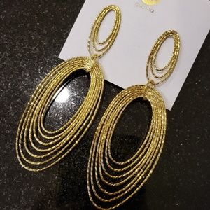 Gorjana Presley Statement Drop Earrings